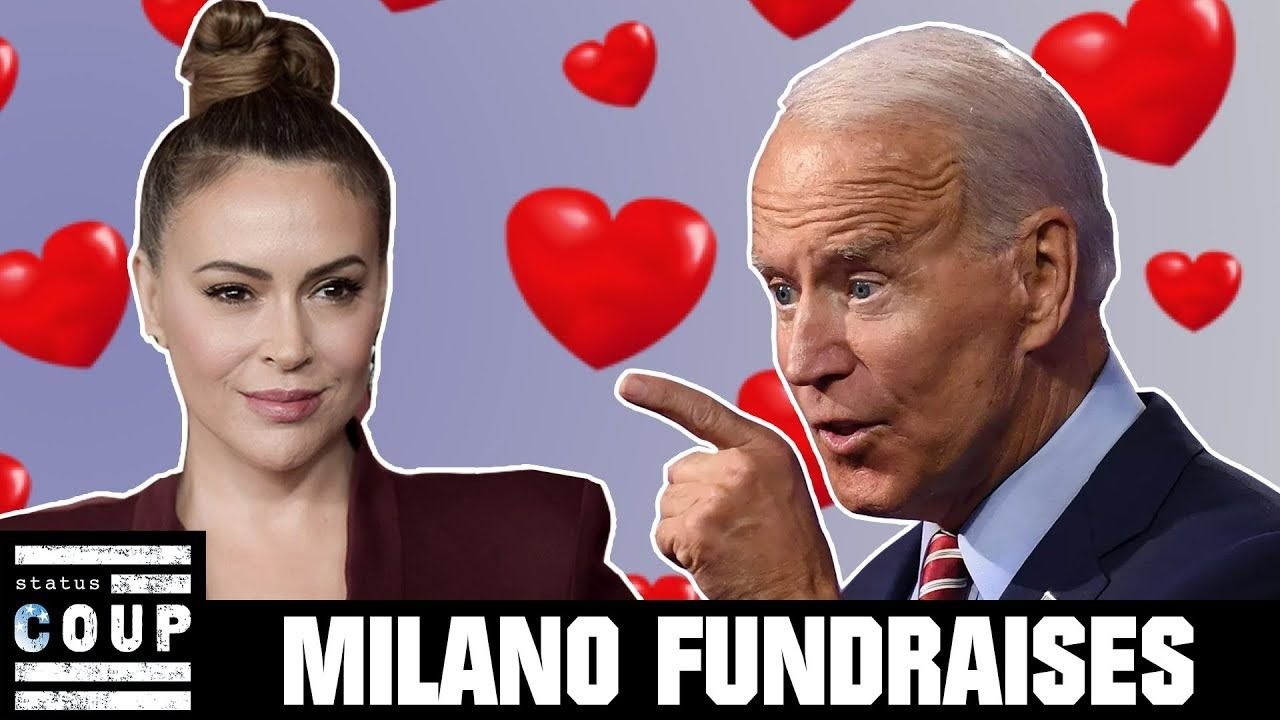Alyssa Milano Bypasses Revolution On The Way To Biden Ville