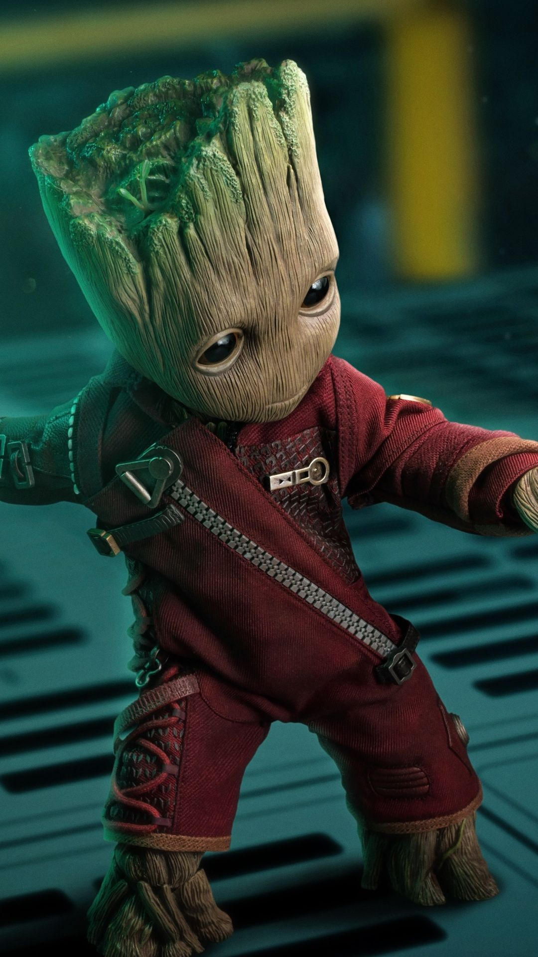 Baby Groot Guardians Of The Galaxy Marvel Toy Art Wallpaper