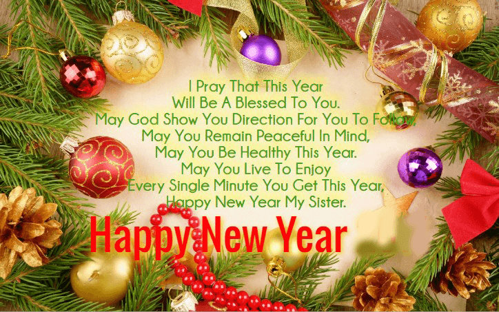 Happy New Year 2019 Messages For Sister In Law | Wishes for sister, New  year wishes, Newyear