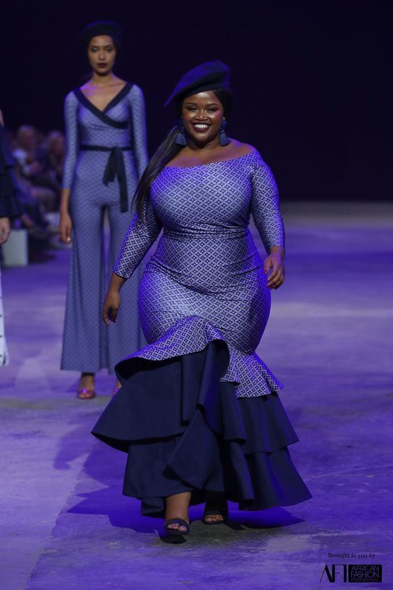 Beautiful Plus Size African Ankara Styles And Attire | mode ...
