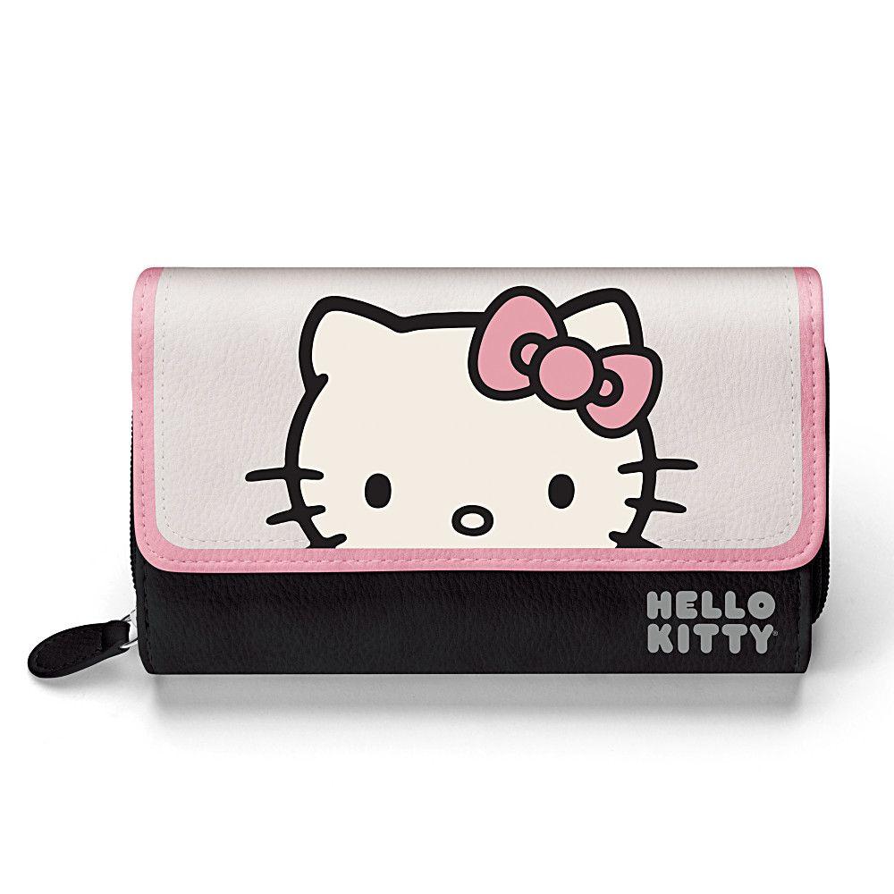 128161001 Hello Kitty Women S Tri Fold Wallet Hello Kitty Bag Hello Kitty Items Hello Kitty Coloring