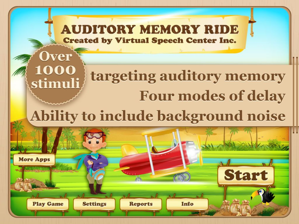Auditory Memory Ride On The App Store
