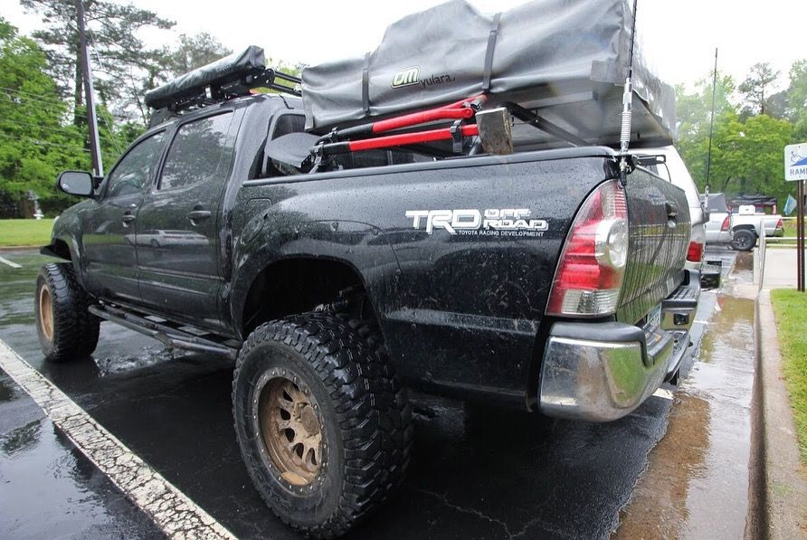 Expedition Georgia's Tents and Tires event! Toyota Tacoma ...