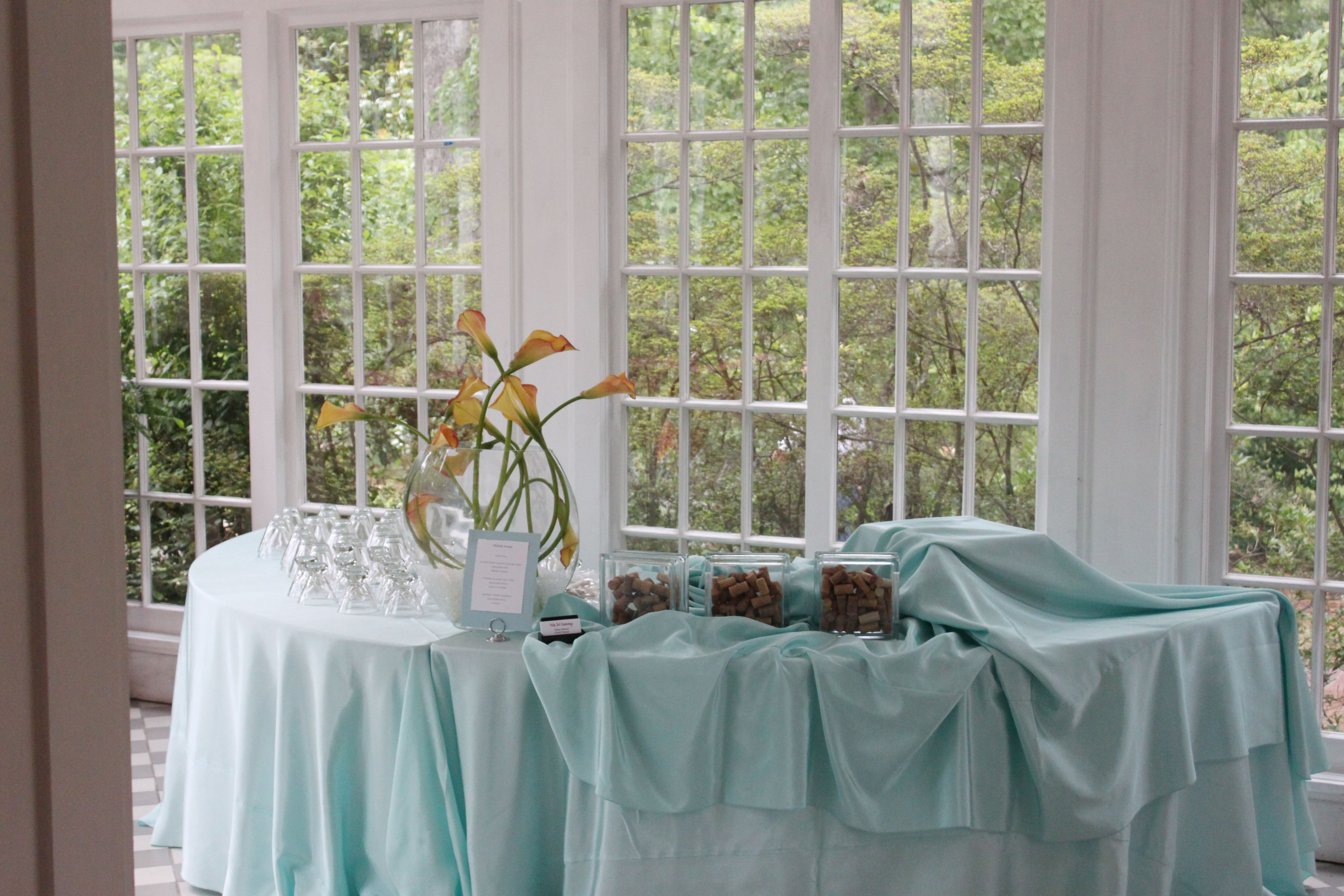 Carey Roberts Design, Stowe Manor, Networking event, Creative Solutions, table linens