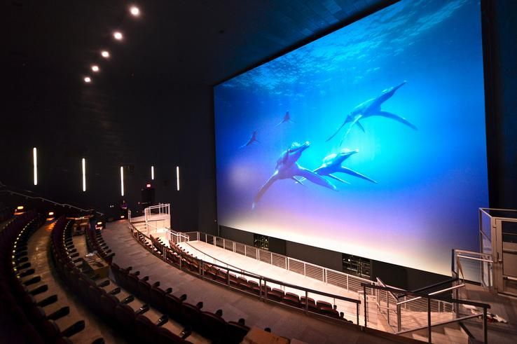 Giant Screen Theater Set For Debut Saturday At New Museum Peoria New Museum Theatre Set