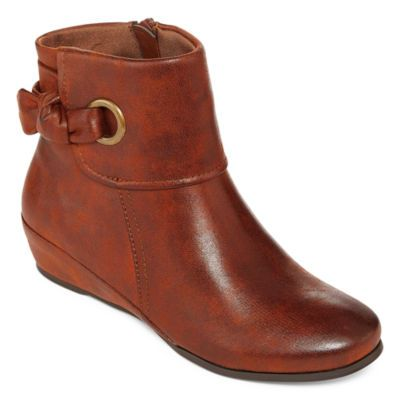 e6ffa21d24ba3 Buy Yuu™ Saynie Wedge Ankle Booties at JCPenney.com today and enjoy great  savings.