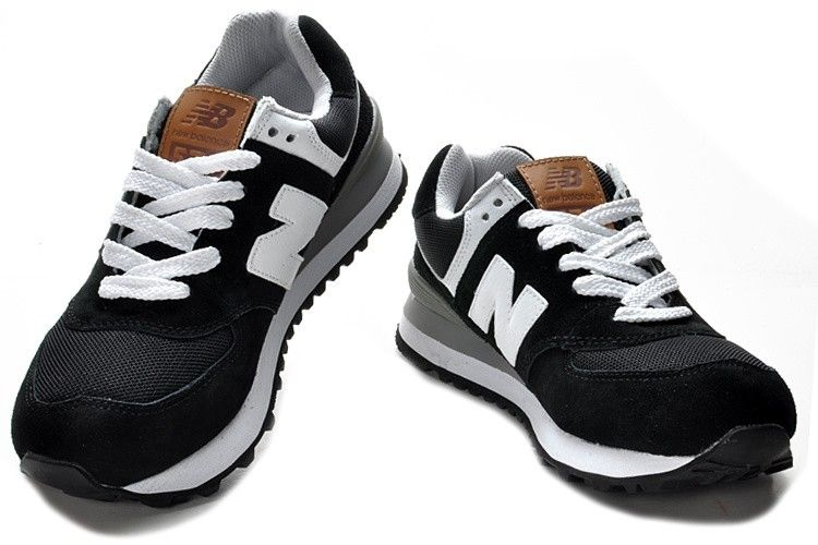 Women's Shoes New Balance 574 Olympic Edition for Black/White