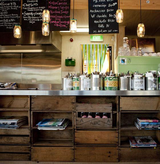 Kitchen Shelves Nz: Best 25+ Cafe Counter Ideas On Pinterest