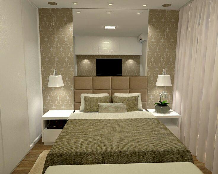 Quartos pequenos dos sonhos de todo casal 5 dicas de - Como decorar espacios pequenos ...