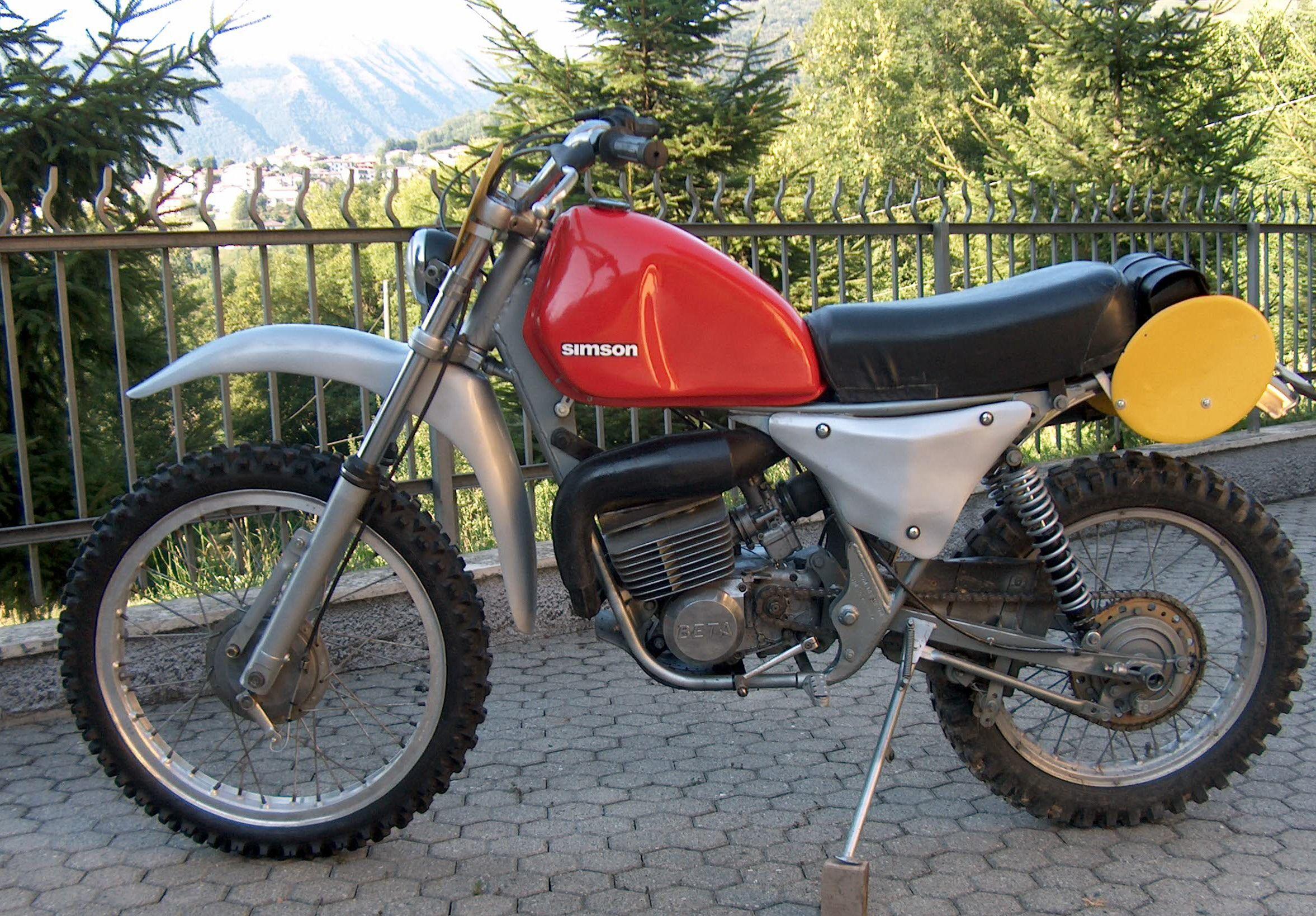 Estetica Simson 1972/76 Meccanica Beta 125GS 1975