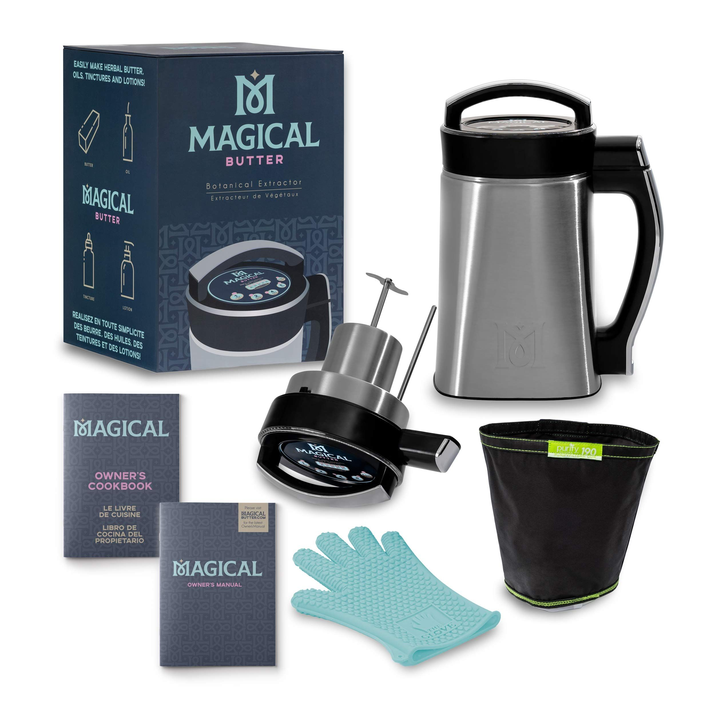 Magical butter mb2e botanical extractor machine with