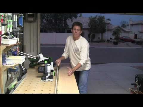 1 2 - Festool TS-75 Tracksaw Review - Part 2 | Woodworking Track