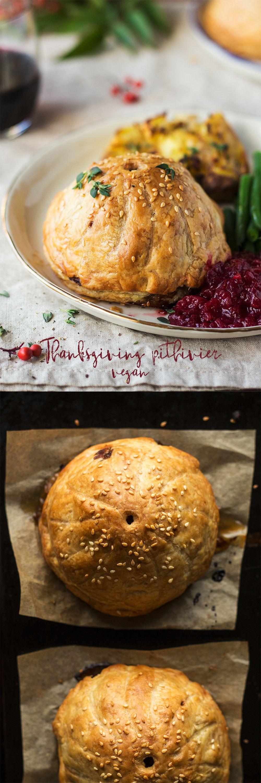 Vegan Thanksgiving Pithiviers