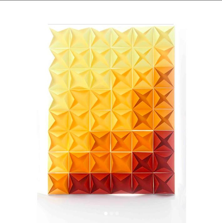 Valentines Day, 3D Paper Canvas, Abstract Art, Home Decor, Wall Art ...