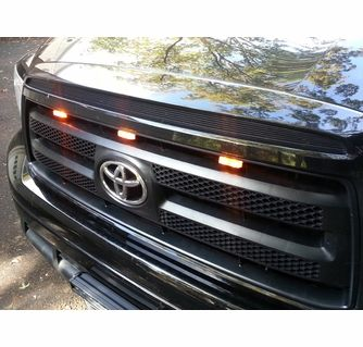 Amber Truck Grill Mount Led Lights With Clip Led Lights