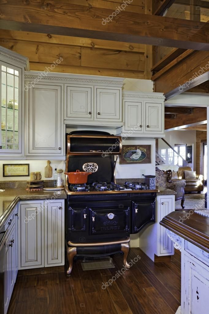Traditional Kitchen Royalty Free Stock Images ,