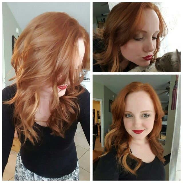 Gorgeous Red Hair Have Been Looking For This Color Forever Argan Oil