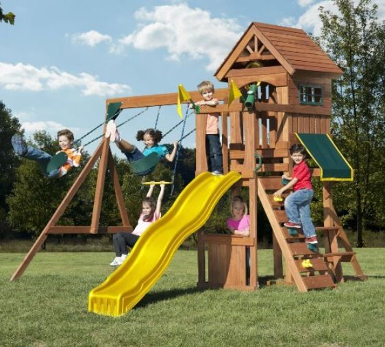 Pin by Rent Sheds on Play-sets, Swing-sets, Slides, Pools