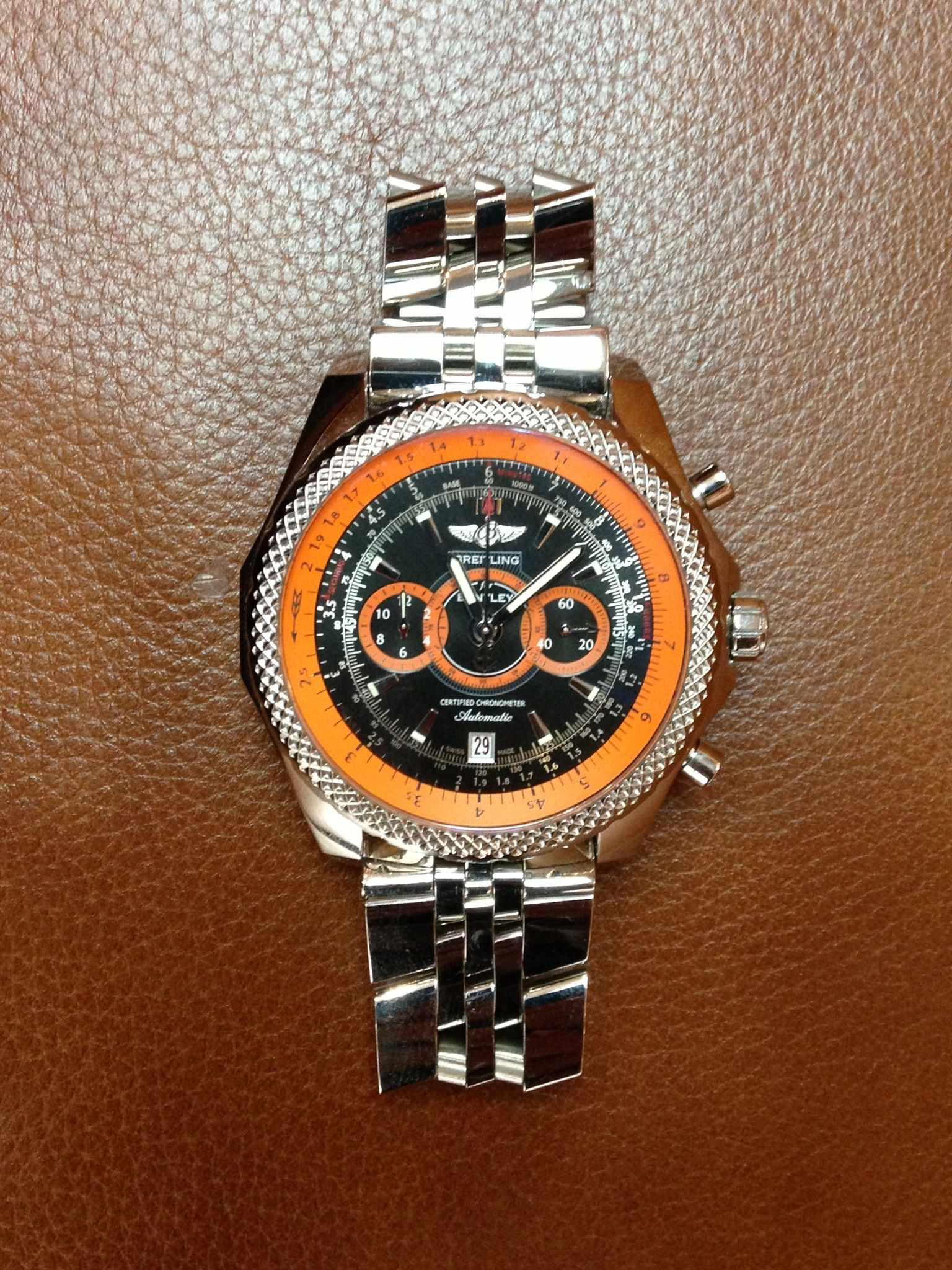 PART OF OUR COLLECTION- Breitling Supersports watch