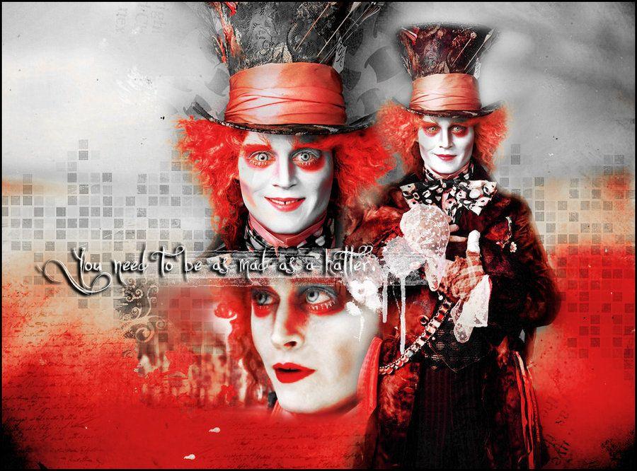 Mad Hatter Wallpaper Johnny Depp Mad Hatter Hatter Mad Hatter