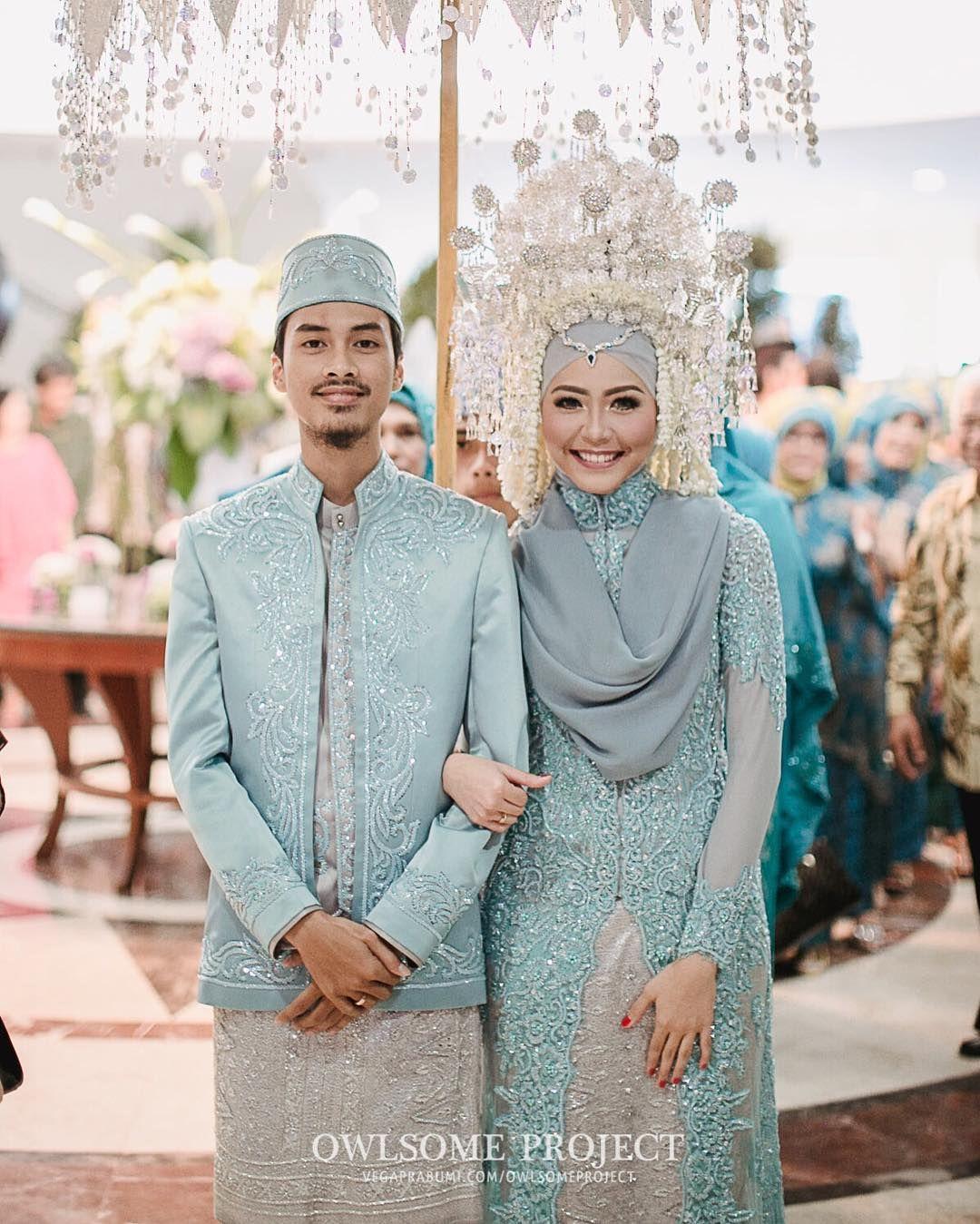 minang muslim wedding | #wedding | Pinterest | Kebaya, Muslim and ...