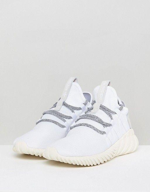 adidas originali tubulare dawn scarpe bianco feticismo del piede