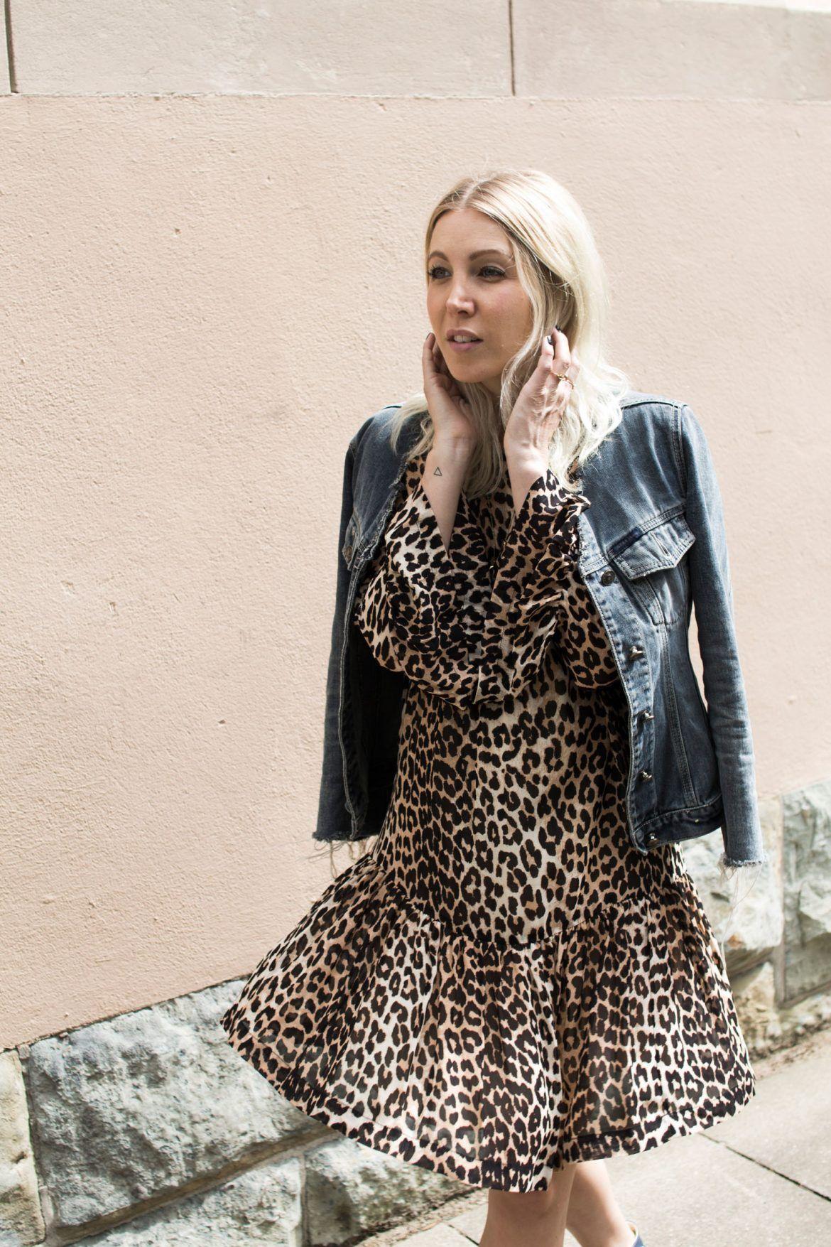OUTFIT: LEO KLEID ZUM WOCHENENDE - stryleTZ  Outfit, Modestil