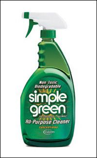 Use 1 Part Simple Green To 3 Parts Water To Create A Stamp