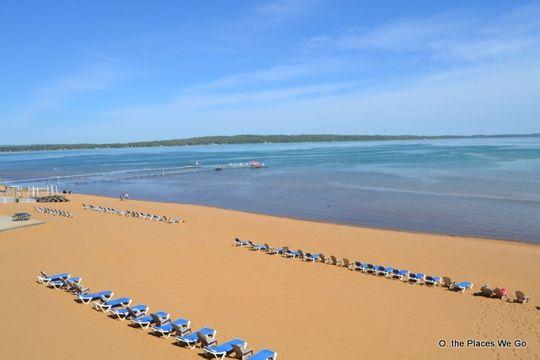 Gorgeous Beach At The Grand Resort Hotel Traverse City Mi Kid Friendly