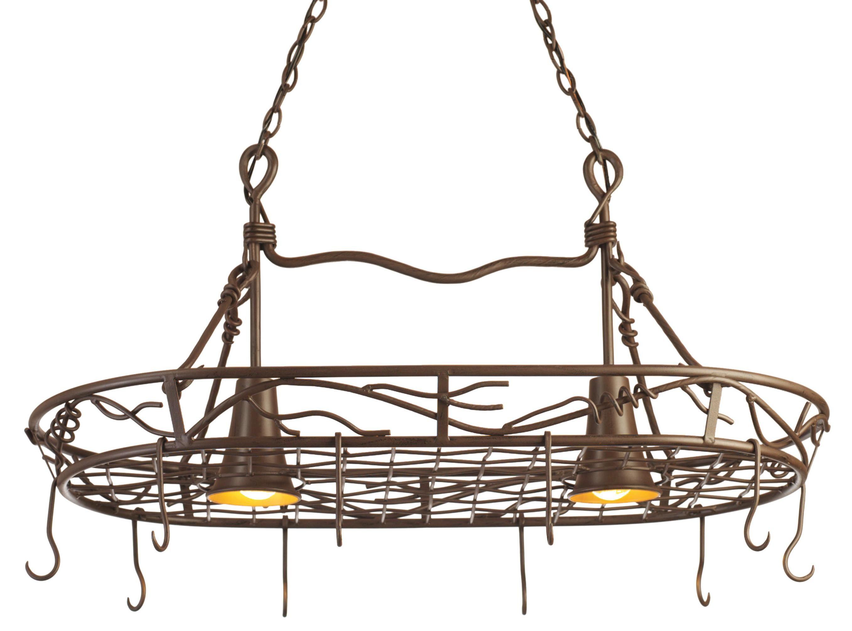 lighting | Pot rack, Pot rack hanging, Hanging lights