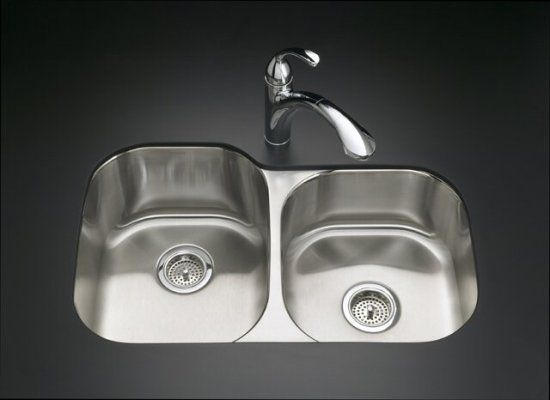 Undermount kitchen sink google search renovation pinterest kohler undertone x stainless steel single basin basin stainless steel undermount customizable hole resi workwithnaturefo