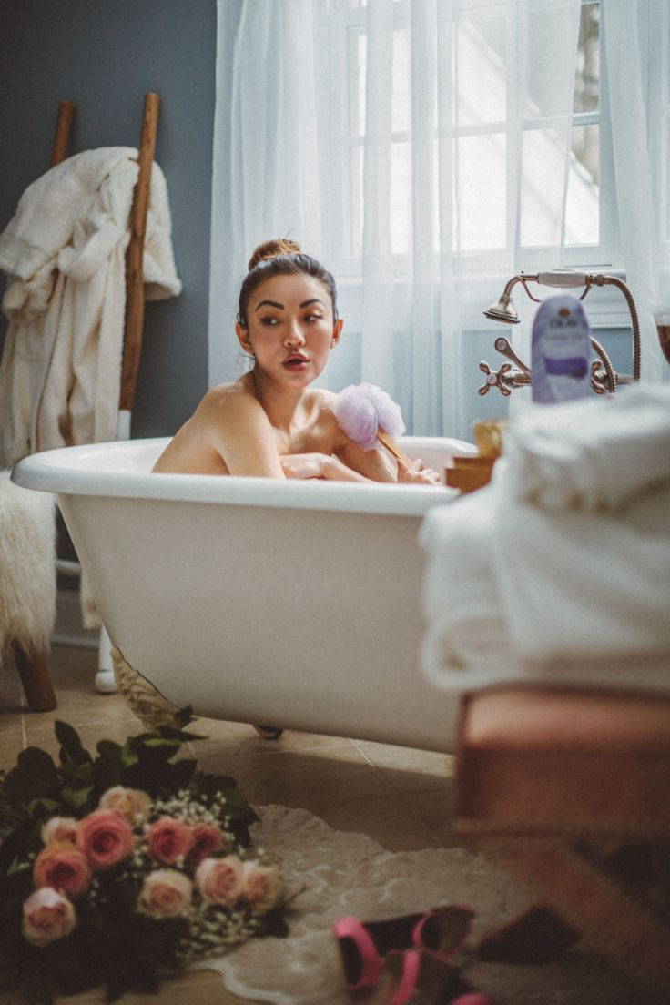How to conquer dry winter skin bathtub photography
