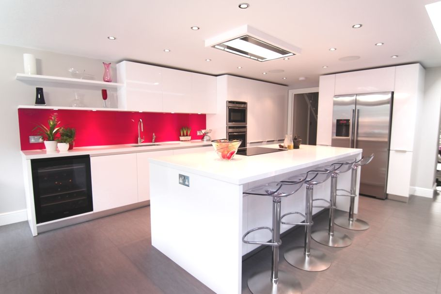 Kitchen Ideas London 1 of 2) nice use of the side space with a u shaped kitchen