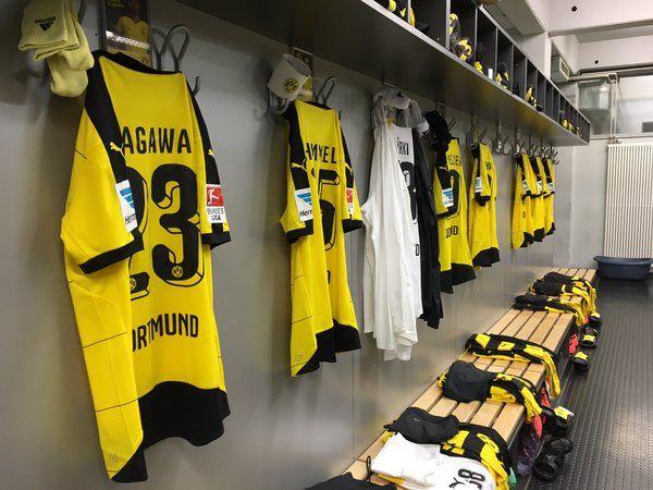 Borussia Dortmund On Twitter Dressing Room Dressing Ball