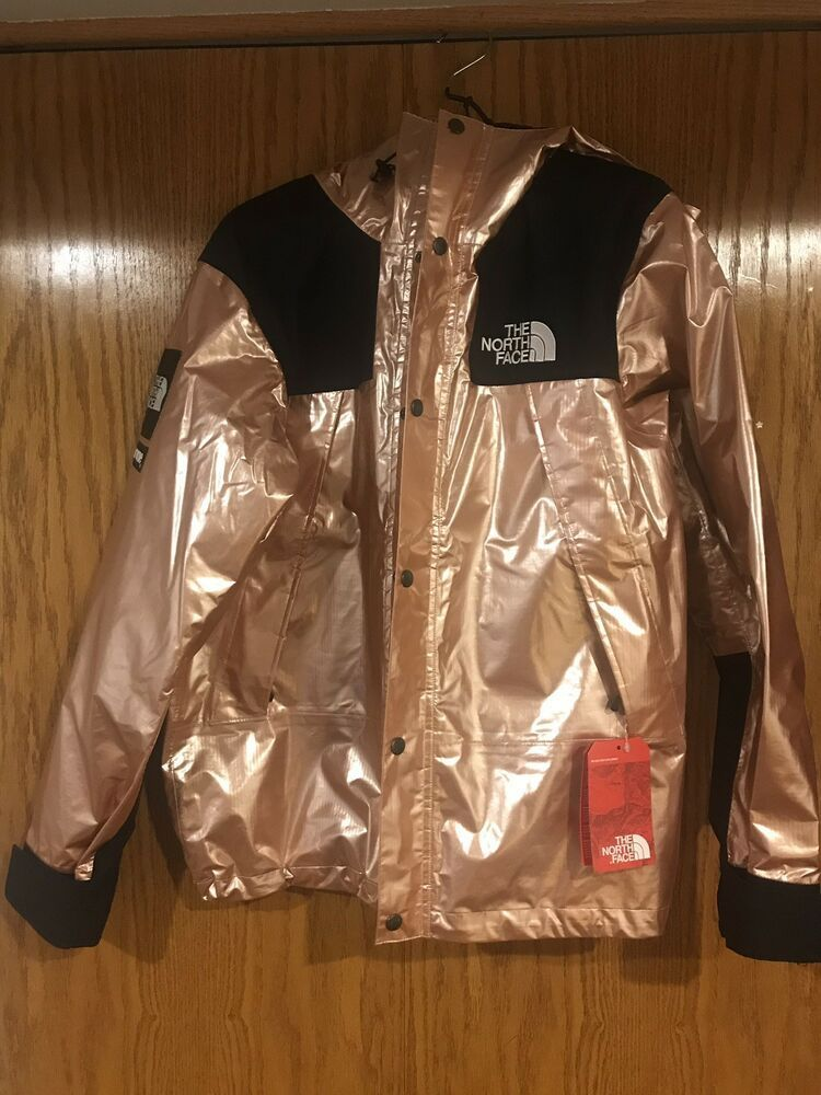 cfe48c3b7 eBay link) Supreme x The North Face Metallic Mountain Parka Rose ...
