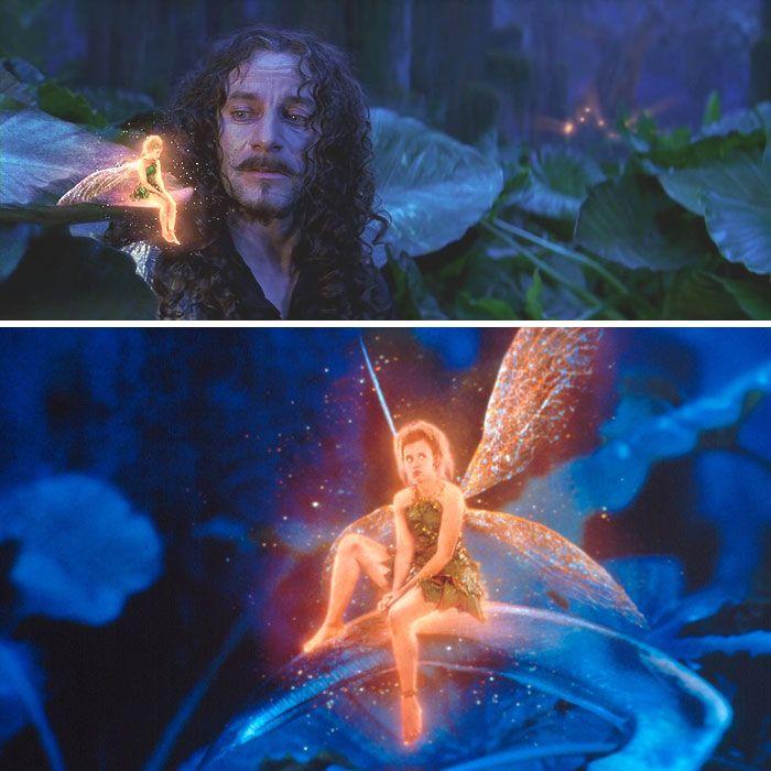 Peter Pan (2003) Starring: Ludivine Sagnier as Tinker Bell ...