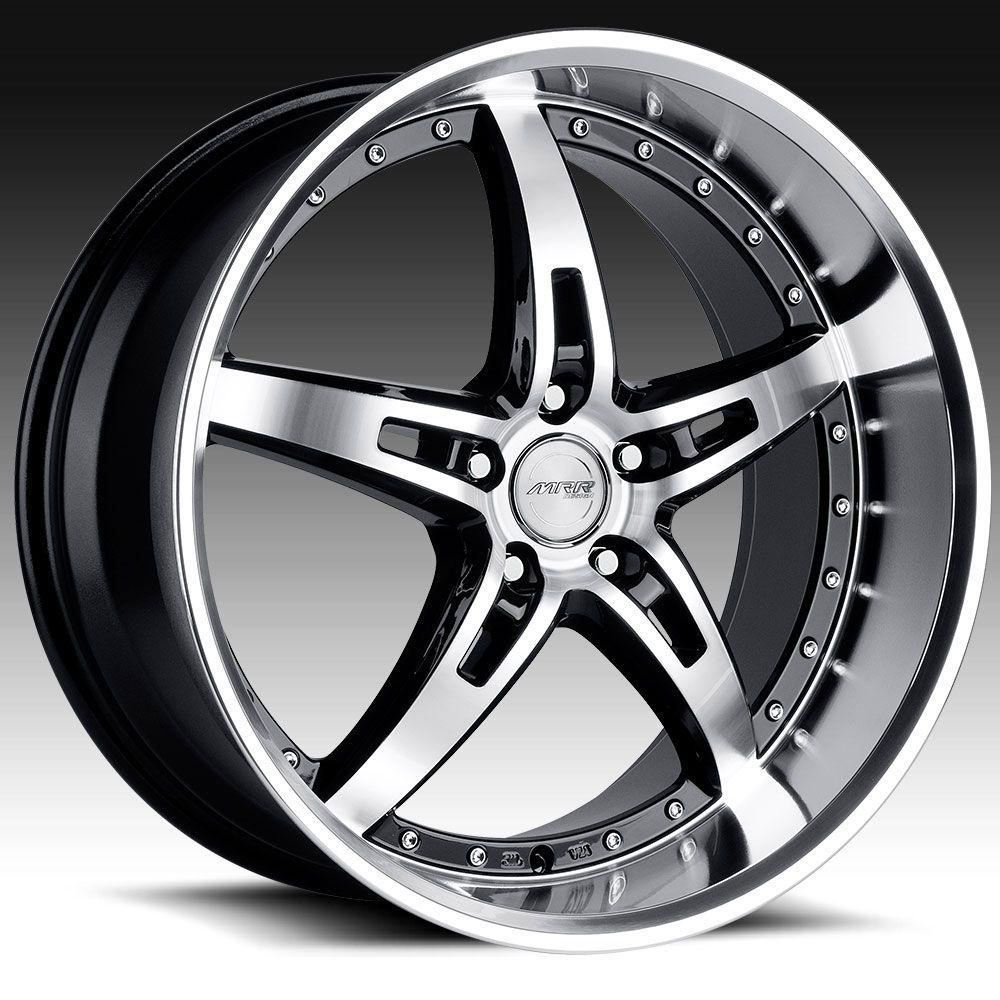 MRR Design GT5 20×10 Black Mirror 5×100/5×112/5×114.3/5