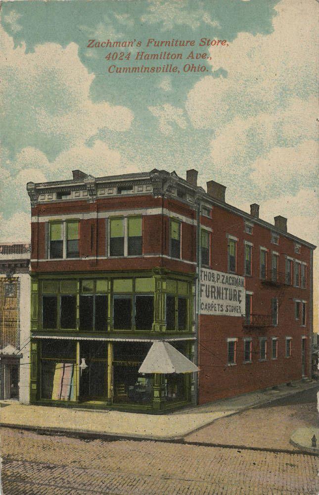 Zachman S Furniture Store 4024 Hamilton Ave Cumminsville Ohio