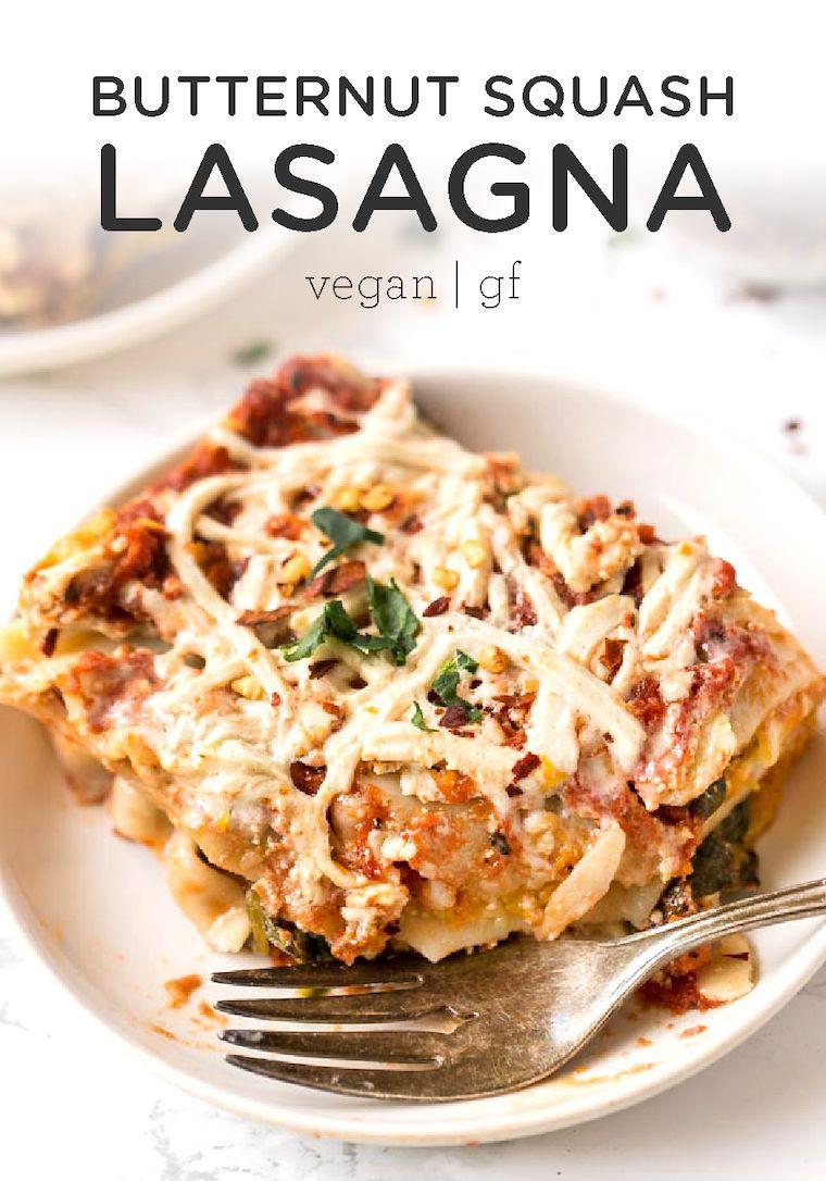 Best Vegan Lasagna With Butternut Squash Recipe With Images Vegan Lasagna Vegan Lasagna Recipe Butternut Squash Lasagna