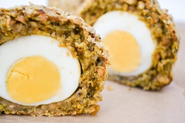 Vegetarian Scotch Eggs