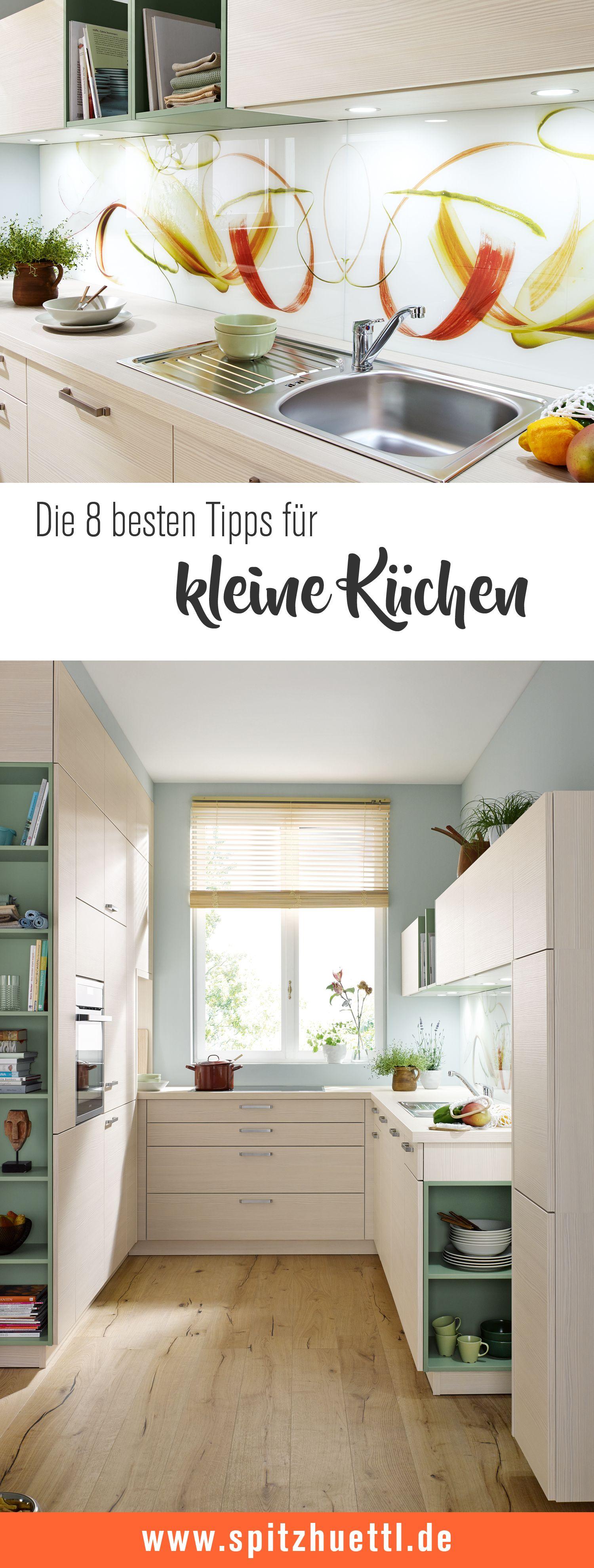 Photo of Die 8 besten Tipps für kleine Küchen