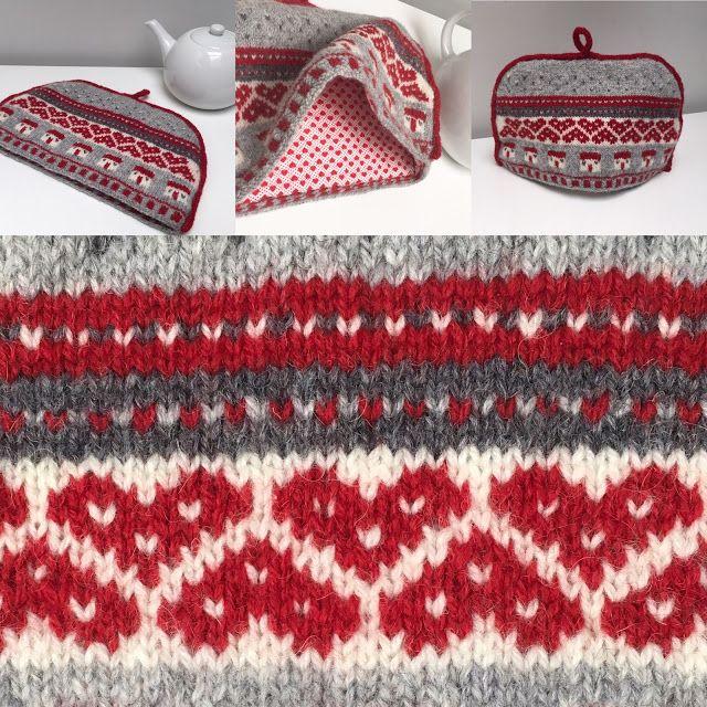 Cosy Tea Love | Tea cosy pattern, Knitting inspiration ...