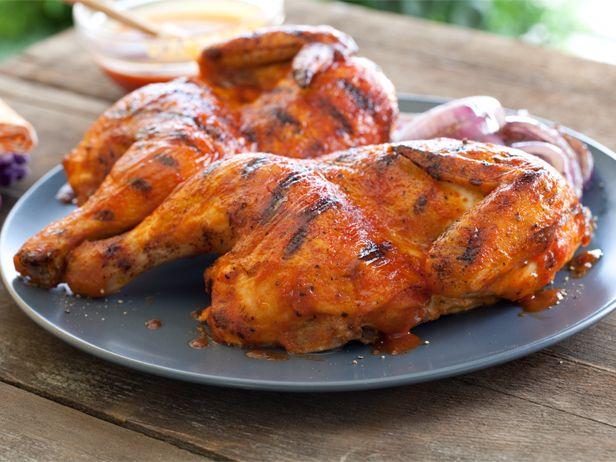 Barbecue chicken receta recetas de parrilla barbacoa for Comida para barbacoa