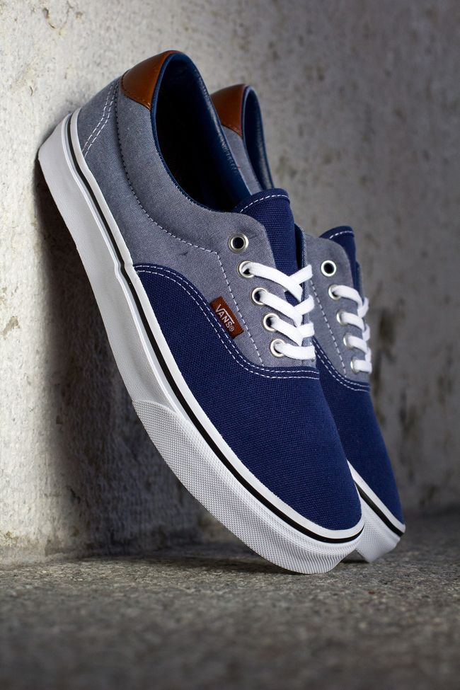 4563aa552a Vans Era 59  Canvas   Chambray  I would love these 4 hubby