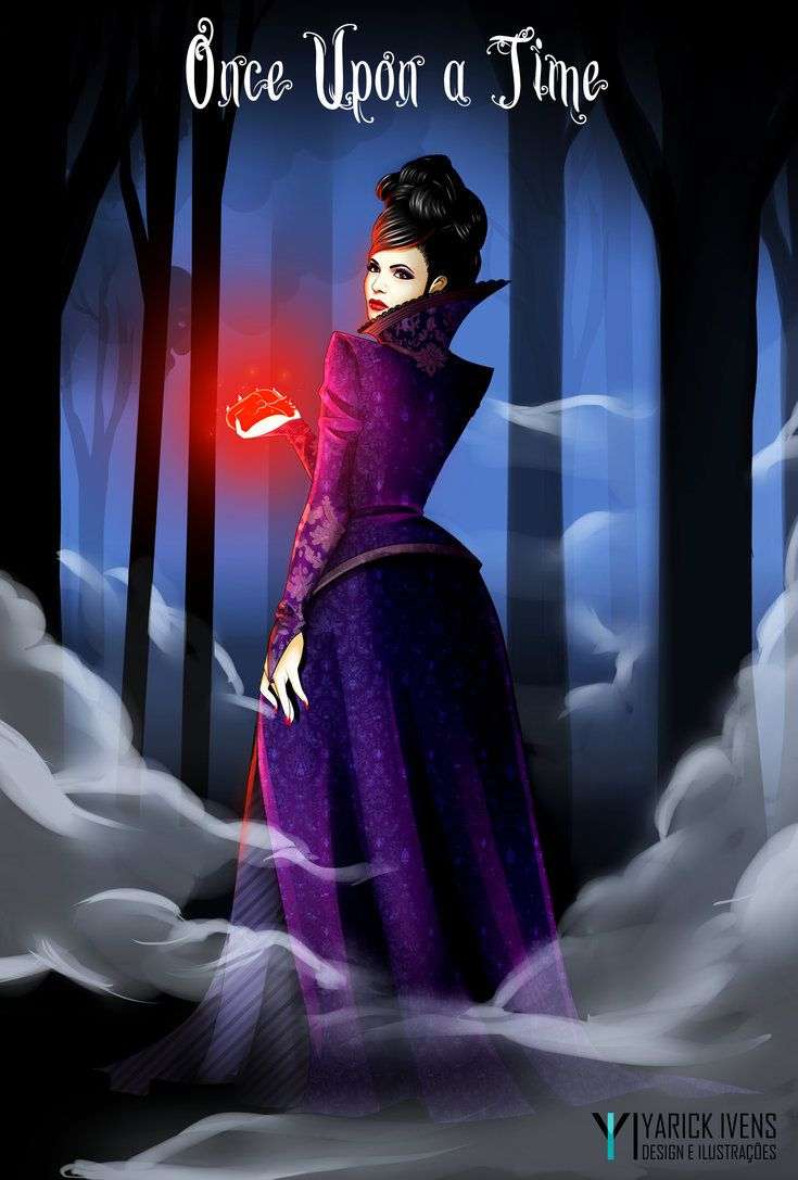 The Evil Queen, Regina Mills - Once Upon a Time by YarickArt on DeviantArt