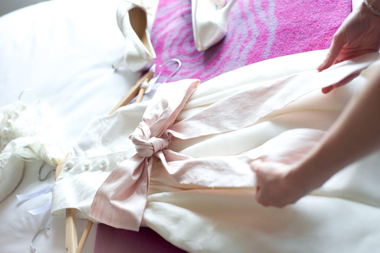 Bridesmaid Dress Laid On Bed Lovely Photo Idea Bridesmaid