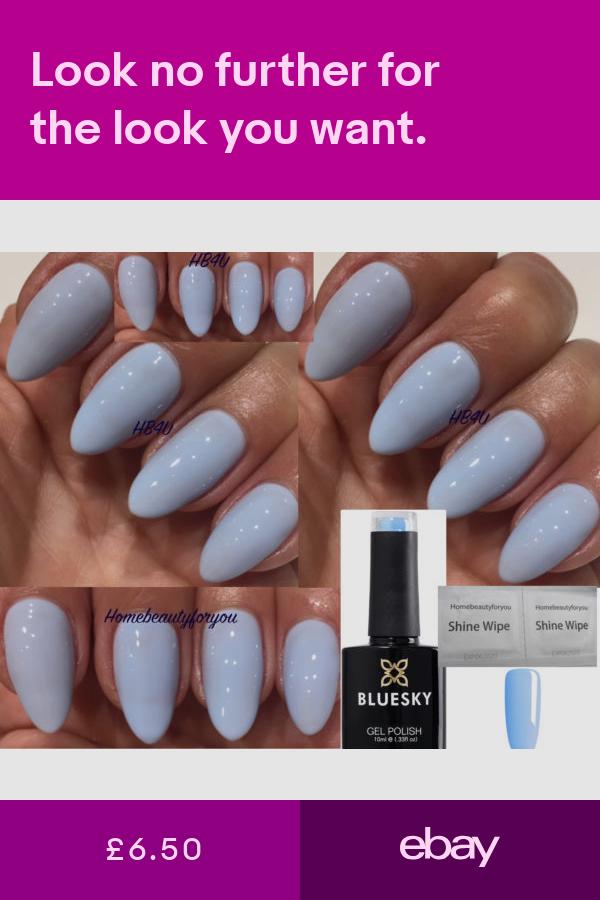 Bluesky Blue Gel Nail Polish - CREEKSIDE - 80596 - 10ml