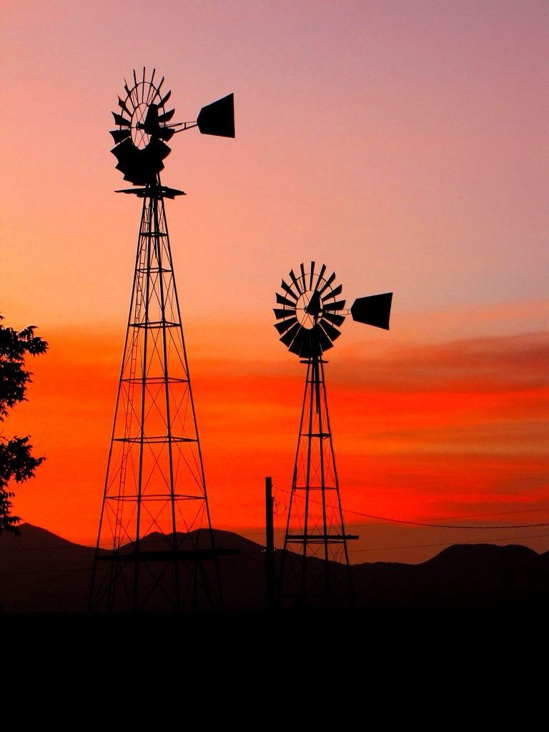 Windmills Paisajes Molinos De Viento Molino De Agua Y Paisaje Para Pintar
