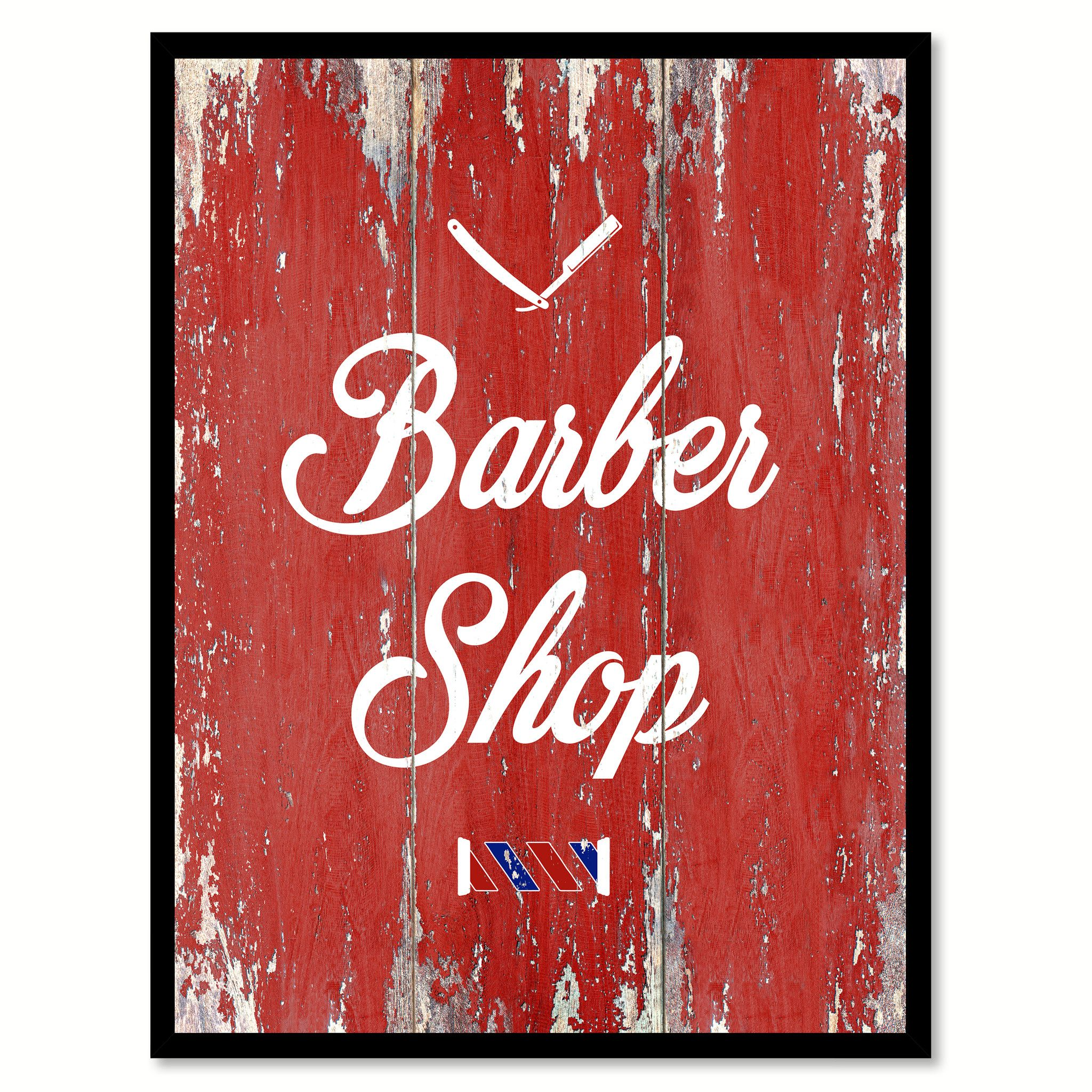 Barber Shop Quote Saying Gift Ideas Home Dcor Wall Art Barber