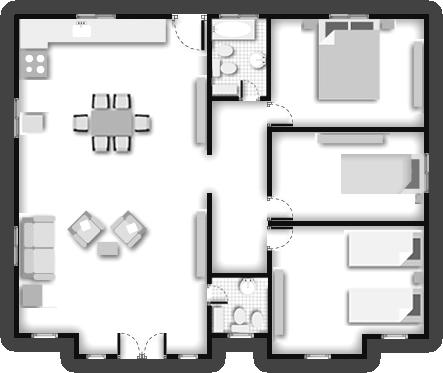 Planos de casas americanas planos de casas for Planos de construccion